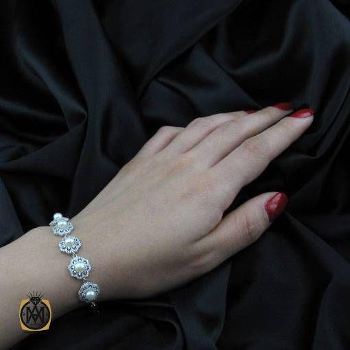 دستبند مروارید زنانه اصل