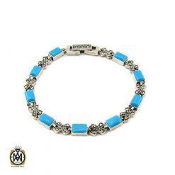 دستبند نقره زنانه طرح تینا