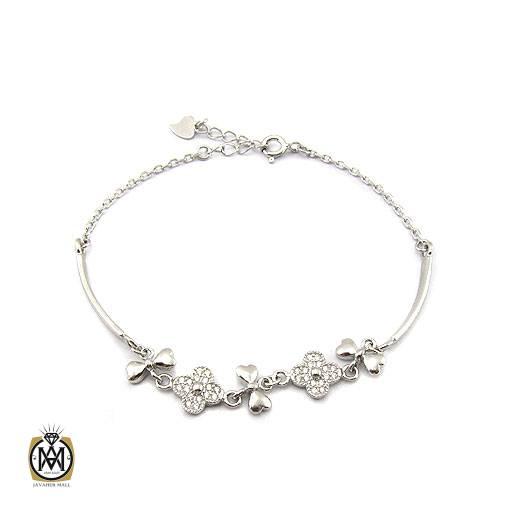 دستبند نقره زنانه طرح رکسانا – کد ۱۱۷۲