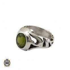 انگشتر زبرجد خوش رنگ مردانه – کد ۱۰۲۹۷