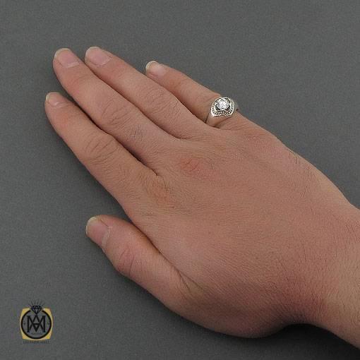 انگشتر موزانایت مردانه مرغوب