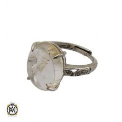 انگشتر کوارتز رتایل زنانه طرح سیما - کد 2473 - انگشتر کوارتز رتایل زنانه معدنی 3 247x247