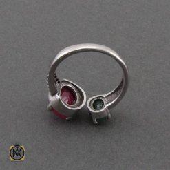 جواهرات چندنگین نقره جواهرمال