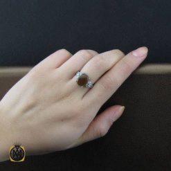 انگشتر جزع یمنی زنانه