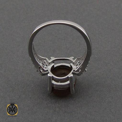 انگشتر جزع یمانی زنانه مدل شیوا – کد ۲۴۴۶