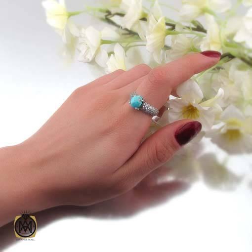 انگشتر فیروزه نیشابوری زنانه جدید