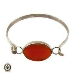 دستبند عقیق قرمز اصل و معدنی دست ساز اسپرت