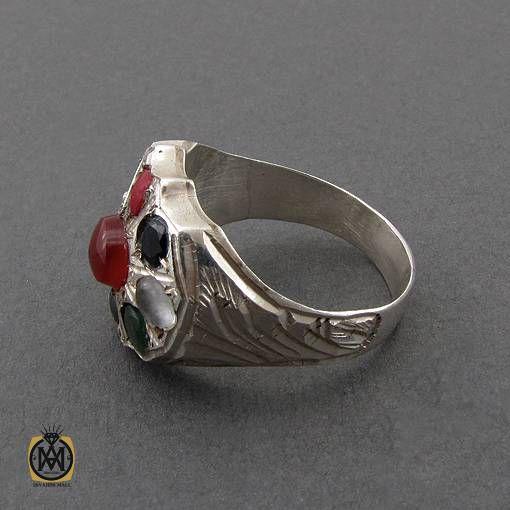 انگشتر حرزدار دست ساز مردانه و زنانه
