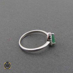 انگشتر دخترانه نقره ظریف شیک (1)