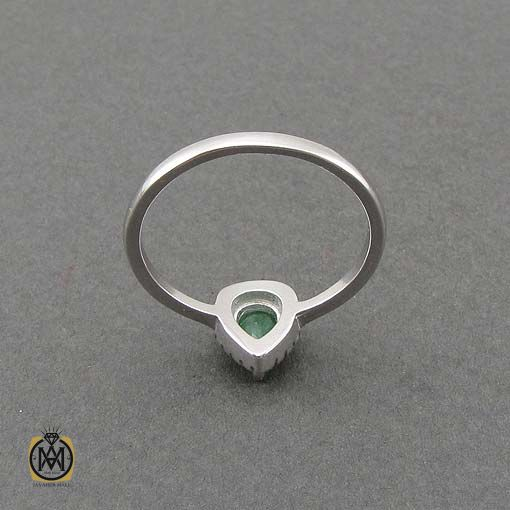 انگشتر دخترانه نقره ظریف شیک (2)