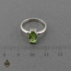 انگشتر دخترانه با سنگ طبیعی (1)