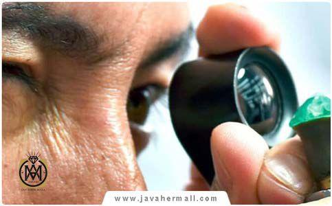 تشخیص انواع سنگ های قیمتی اصل و تقلبی