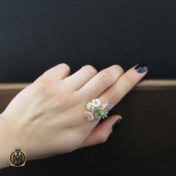 انگشتر چند جواهر زنانه و دخترانه شیک و جدید (1)