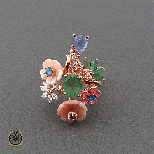 انگشتر چند جواهر زنانه و دخترانه شیک و جدید (2)