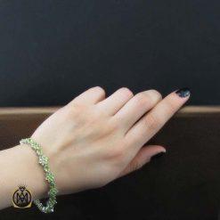 دستبند نقره با سنگ اصل و مرغوب نقره (1)