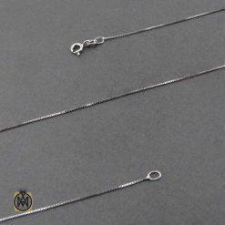 زنجیر ایتالیایی نقره زنانه طرح ونیزی 50 سانتی