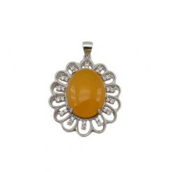 womens-yellow-agate-necklace-3452
