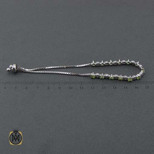 دستبند زبرجد اصل و معدنی
