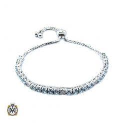 دستبند توپاز زنانه خوش رنگ طرح لیانا